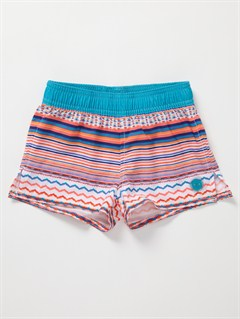WBB3Girls 2-6 Blaze Embroidered Shorts by Roxy - FRT1