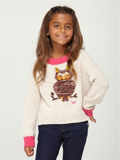 TFE0Girls 2-6 Heart Beat Sweater by Roxy - FRT1