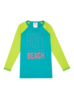 BNW0From Above Toddler SS Rashguard by Roxy - FRT1