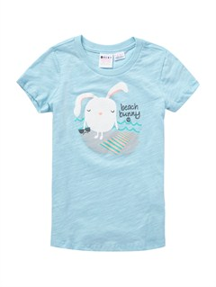 BGD0Girls 2-6 Block Rocks Harmony Tee by Roxy - FRT1