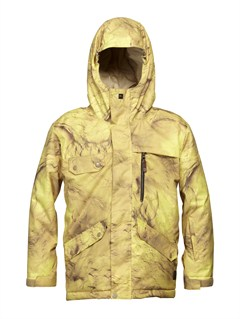 YJN2Mission  0K Youth Print Jacket by Quiksilver - FRT1