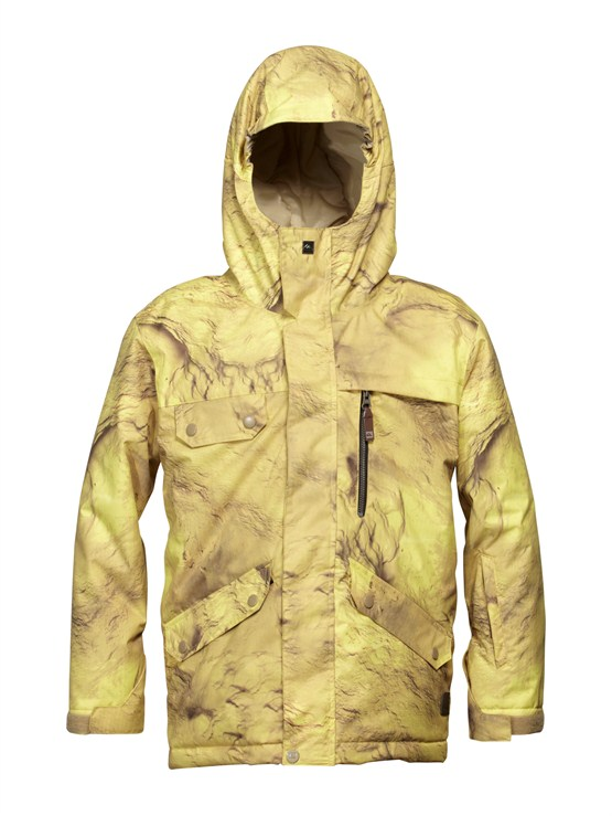 YJN2Edge  0K Youth Jacket by Quiksilver - FRT1