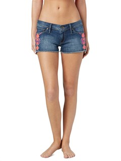 BPZWSmeaton Denim Print Shorts by Roxy - FRT1