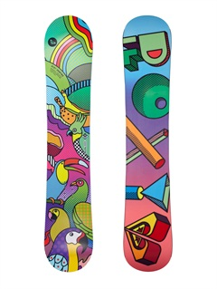 MULEminence Snowboard with logo by Roxy - FRT1