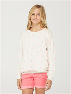 OATGirls 7- 4 Cherry Blossom Pullover by Roxy - FRT1