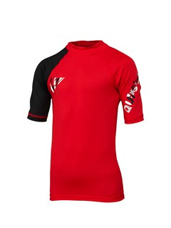 REDBoys 8- 6 Line Up SS Rashguard by Quiksilver - FRT1
