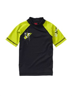 BGNBoys 2-7 Over Ruled SS Rashguard by Quiksilver - FRT1