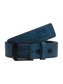 BRQ0Sector Leather Belt by Quiksilver - FRT1
