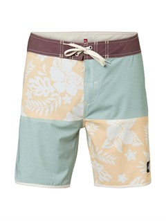 "BHB6Yoke Checker  8"" Boardshorts by Quiksilver - FRT1"