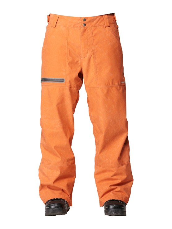 CNH0Dark And Stormy  5K Shell Pants by Quiksilver - FRT1