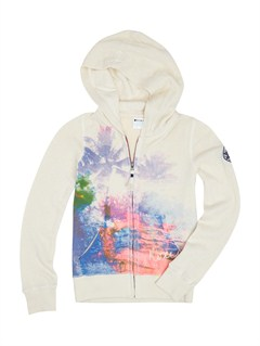 WBS0Girls 7- 4 Love In Hoodie by Roxy - FRT1