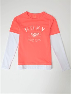 MLNGirls 7- 4 High Light LS Rashguard by Roxy - FRT1
