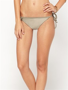 TMC0Against the Tide Surfer Side Tie Bikini Bottoms by Roxy - FRT1