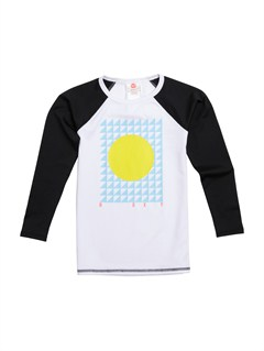 KVJ0Girls 2-6 Livin Large LS Rashguard by Roxy - FRT1