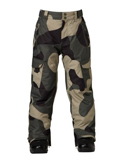 GZA1Slate Youth  0K Pants by Quiksilver - FRT1