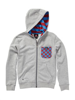 SZNHBoys 2-7 Solana Checks Hooded Sweatshirt by Quiksilver - FRT1