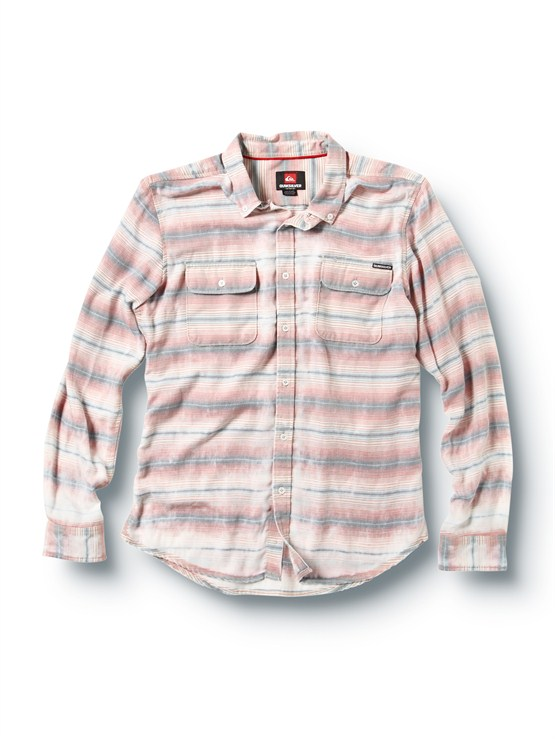 SGATube Release Long Sleeve Oxford Shirt by Quiksilver - FRT1