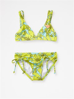 YELGirls 2-6 Bright as Roxy Fringe Tiki Tri Bikini Set by Roxy - FRT1