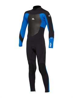 XKKPBoys Syncro 3/2mm Back Zip Wetsuit by Quiksilver - FRT1