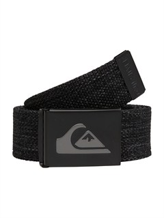 KVJ0Sector Leather Belt by Quiksilver - FRT1