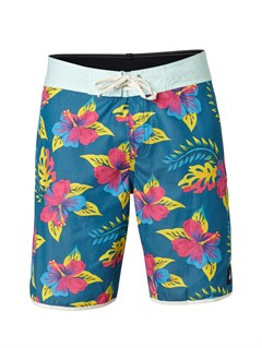 "BSG6Yoke Checker  8"" Boardshorts by Quiksilver - FRT1"