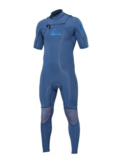 KTW0Syncro 2/2mm Back Zip Flat Lock Wetsuit by Quiksilver - FRT1