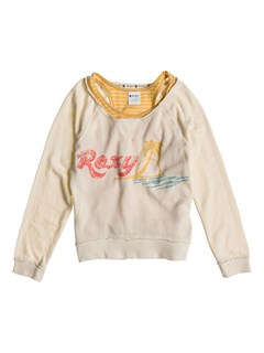 WDV0Girls 7- 4 Believe Printed B Sweater by Roxy - FRT1
