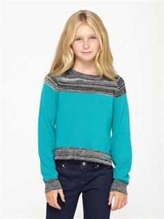 BQT6Girls 7- 4 Believe Printed B Sweater by Roxy - FRT1