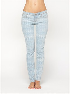 BQM6SUNTRIPPERS COLOR JEANS by Roxy - FRT1