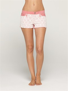MKP0Smeaton Denim Print Shorts by Roxy - FRT1