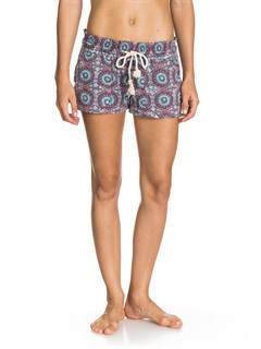 PSF6Hearted Print Shorts by Roxy - FRT1