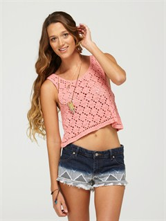 FLOCarnivals Embroidered Shorts by Roxy - FRT1