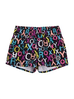 KVJ7Girls 2-6 Doll Face Loosen Up Boardshorts by Roxy - FRT1