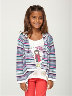WBS6Girls 2-6 Heart Beat Sweater by Roxy - FRT1