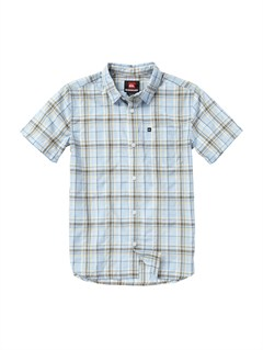 BFG0Boys 8- 6 Box Plaid Long Sleeve Shirt by Quiksilver - FRT1