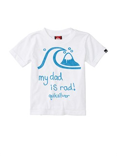 WHTBaby Rad Dad T-Shirt by Quiksilver - FRT1