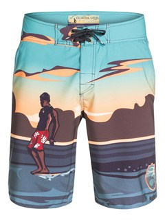 "KTE0Frenzied  9"" Boardshorts by Quiksilver - FRT1"