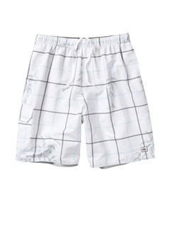 "WHTButt Logo  7"" Volley Boardshorts by Quiksilver - FRT1"