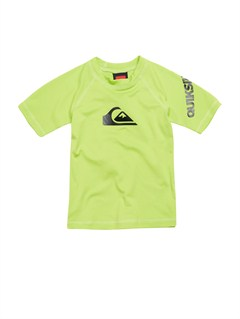 GGY0All Time LS Boy Rashguard by Quiksilver - FRT1