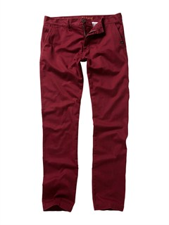 RSS0Class Act Chino Pants  32  Inseam by Quiksilver - FRT1