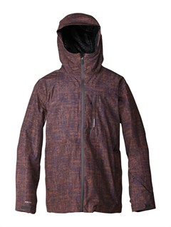 CNH1Lone Pine 20K Insulated Jacket by Quiksilver - FRT1