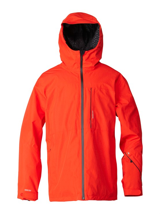RQF0Over And Out Gore-Tex Pro Shell Jacket by Quiksilver - FRT1