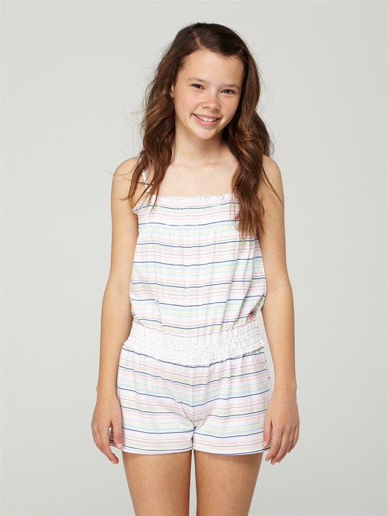 WHSGirls 7- 4 Vacation Spot Romper by Roxy - FRT1