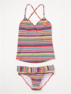 YDGGirls 7- 4 Blooming Bliss Tiki Triangle One Piece Swimsuit by Roxy - FRT1