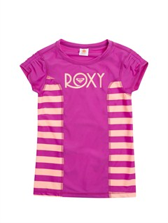MNF4Girls 7- 4 Roxy Border Rashguard by Roxy - FRT1