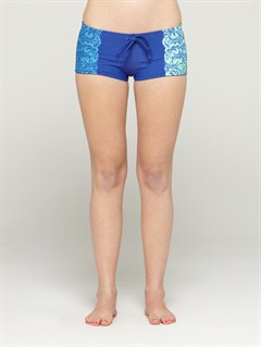 MRNSmeaton Denim Print Shorts by Roxy - FRT1