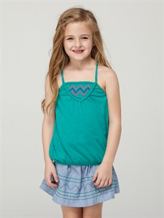 DGRGirls 2-6 Autumn Breeze Criss Cross Halter Set by Roxy - FRT1
