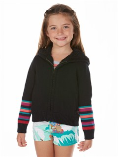 KVJ3Girls 2-6 Quiet Whiper Cardigan by Roxy - FRT1