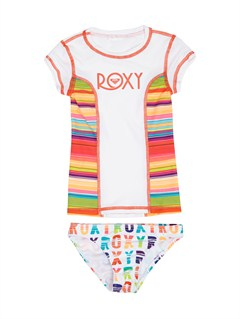 WBB0From Above Toddler SS Rashguard by Roxy - FRT1