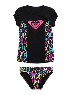 KVJ7Girls 2-6 Roxy Charm Bandeau Tankini Set by Roxy - FRT1